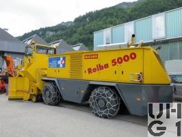 Bucher Rolba 5000, Schneeräumwagen sch 00 Flpl 4x4