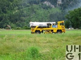 Boschung Jet Broom BJB 8000 Reinigungsw 99 Flpl sch 4x4