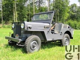 Willys Overland CJ-3B, Geländepersonenwagen 0,55 t 4x4