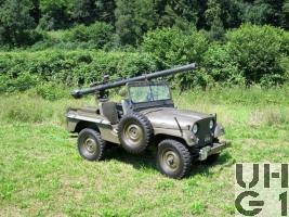 Willys Overland M38 A1 BAT Jeep