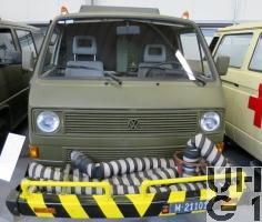 VW Transporter T3, Anlassw Tiger l 4x2
