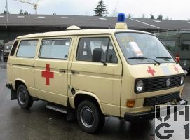 VW Transporter Typ 2 T3, Ambw 2 Liegepl l 4x2