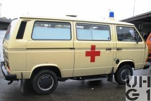 VW Transporter T3 Ambw 2 Liegepl l 4x2