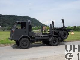 Saurer 4 CM, Langholzw 6,2 t sch gl 4x4