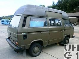 VW Transporter T3 syncro, Repw TAFLIR l gl 4x4, Bild Armasuisse