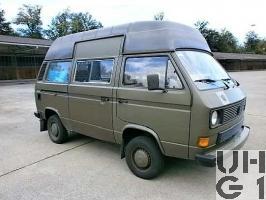 VW Transporter T3, Repw TAFLIR l gl 4x4, Bild Armasuisse