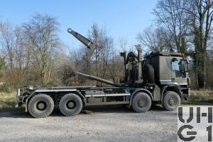 IVECO Trakker AT-N 410 T 50 W/P, Lastw WABRA/HA Con F 13,7 t 8x8
