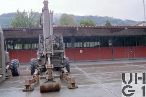 Menzi Muk 6000 T Schreithydraulikbagger 90 1,5 t