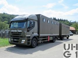 IVECO Stralis AT 190 S 45 /P, Pf Trspw sch 9 Pl 4x2