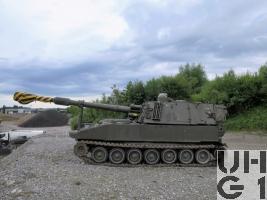 Panzerhaubitze 74 M-109A1B / L-39, Pz Hb 74 M-109