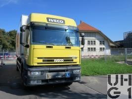 IVECO EuroTech MP190E43FP-CM, Lastw für WA FS 9,8 t 4x2