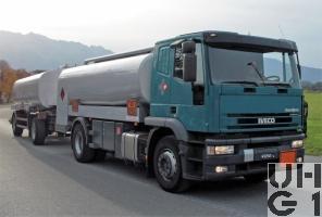 Iveco EuroTech MP 190E 43 P/C, Tankw Trst 13000 l sch 4x2, Strassenzisterne 01