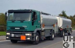 Iveco EuroTech MP 190E 43 P/C Tankw Trst 13000 l sch 4x2, Strassenzisterne 01