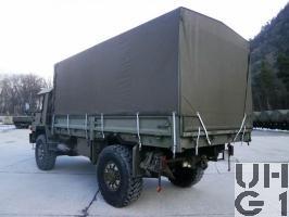 Saurer 6 DM Erstw sch BE1 KT/Pz 87 4x4 gl