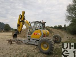 Menzi Muck A91, Schreitbagger GG 10 t 4x2 gl