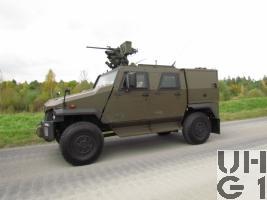 Mowag EAGLE IV, Aufklärungsfahrzeug EOR 4x4 GL