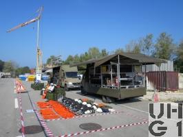 Mercedes Benz 413 CDI 4x4 Lastw L für WA 2,3 t mit WB L Atemsch Brücke/Verdeck FHS