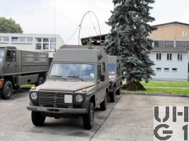 Steyr Puch 230 GE, Fkw Rel VHF/HF SE-235/240 M HT 4x4