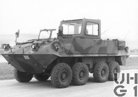 Mowag Piranha Spz 93 8x8 Fahrschule, Foto Armasuisse