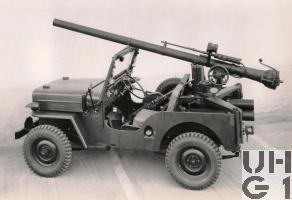 Willys Overland CJ-3B rsf 10,6 cm Pak 58 BAT Jeep 4x4