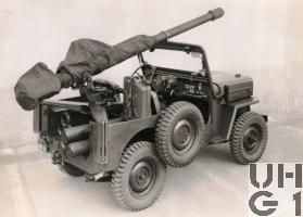 Willys Overland CJ-3B rsf 10,6 cm Pak 58 BAT Jeep 4x4