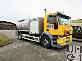 IVECO Stralis AD-190S35/RP, Lfz Betw sch 10000 l 4x2