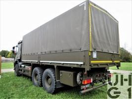 IVECO Trakker AT-N 380 T 45 W, Lastw Verd Seilw 9,5 t Gl 6x6
