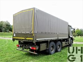 IVECO Trakker AT-N 380 T 45 W Lastw Verd Seilw 9,5 t Gl 6x6