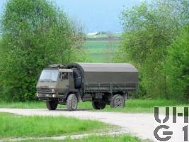 Steyr 1291.320 P43/M, Lastw Seilw 5,6 t gl 4x4