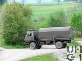 Steyr 1291.320 P43/M, Lastw 5,6 t gl 4x4 mit Seilwinde