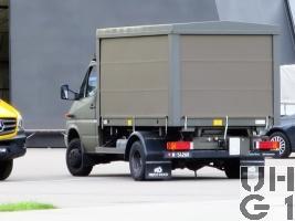 Mercedes Benz Sprinter 516 CDI, Sauerstoff-und Stickstoffwagen 4x4