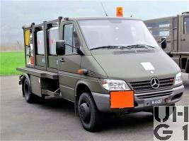 Mercedes Benz Sprinter 616 CDI, Flugzeugtankwagen 4x4
