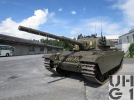 Panzer 55 Centurion Mk 3 / Mk 5, Pz 55 mit 10,5 cm Pz Kan 60