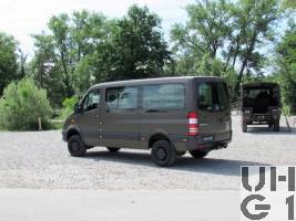 Mercedes Benz 316 CDI 4x4 Kleinbus 10 Pl Euro 6 BlueTEC