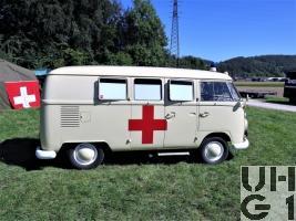 VW Transporter T1 Ambw 2 Liegepl l 4x2