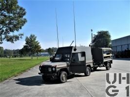 Steyr Puch 230 GE Fkw HT L gl 4x4 mit SE-235/M2