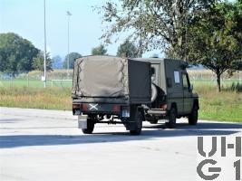 Steyr Puch 230 GE, Fkw SE-235/m2+ HT 4x4 gl