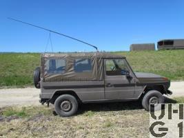 Steyr Puch 230 GE Fkw SE-235/M1 Verdeck 4x4 gl