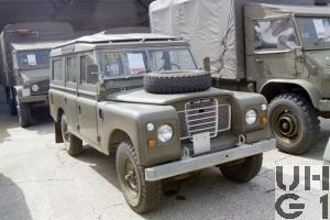 Land-Rover 109 Serie III, Pw 9 Pl gl 4x4
