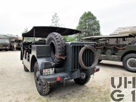 Saurer M4 Modell 1946 M. Gelastw. 1,5 t 4x4
