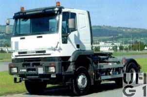 IVECO EuroTrakker MP 400 E 48WT/P, Lastwagen/Sattelschlepper International Seilwinde 7,9 t 4x4, Bild Armasuisse
