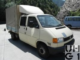 VW Transporter T4 syncro, Lieferw 0.86 t 4x4