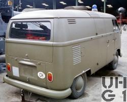 VW Transporter Typ 2 T1, Loeschw Pulver 250 kg l 4x2