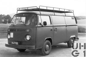 VW Transporter Typ 2 T2, Kabelspleisw l 4x2