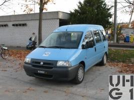 Fiat Scudo 1,9 JTD, Pw Kombi 0.6t/7Pl 4x2