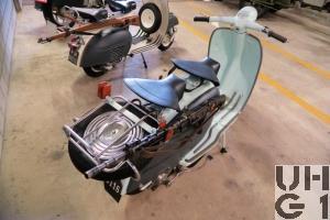 Lambretta 125 LI, Motrd 2 Pl 2x1
