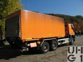 IVECO EuroTrakker MP 260E 44W/P, Lastw für WA 10.2 t Ladekran 6x6 gl Mil Sich für Hebebühne