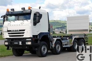 IVECO Trakker AT-N 410 T 50 W, Lastw / Sattelschl Gesch für Wa INT GG 32 t 8x8, Foto Armasuisse