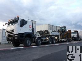 IVECO Trakker AT-N 410 T 50 W, Lastw / Sattelschl Gesch für Wa INT GG 32 t 8x8