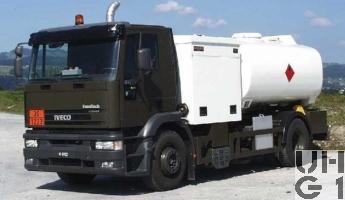 IVECO EuroTech MH 190E 35 P, Luftfahrzeug Betankungswagen 10000 Liter schwer 4x2, Foto Armasuisse